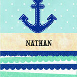 Nautical Name Cards - Set of 9 additional 1