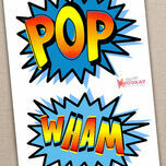 Printable Superhero Photo Booth Props additional 4