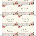 Sweet Vintage Escort Cards - Set of 8 additional 2