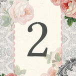 Sweet Vintage Table Number additional 1
