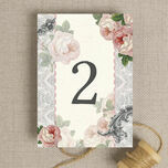 Sweet Vintage Table Number additional 2