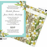 Tropical Beach Wedding Invitation additional 3