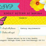 Tropical Breeze RSVP additional 1