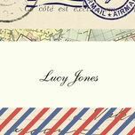 Vintage Airmail Place Cards - Set of 9 additional 1