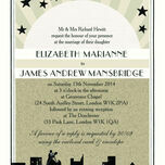 Vintage Hollywood Wedding Invitation additional 2