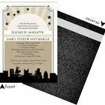 Vintage Hollywood Wedding Invitation additional 3