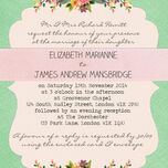 Vintage Trinkets Wedding Invitation additional 2