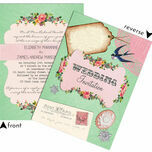 Vintage Trinkets Wedding Invitation additional 3