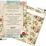 Vintage Scrapbook Wedding Invitation additional 3