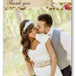 Vintage Scrapbook Thank You Card additional 1
