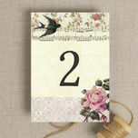 Vintage Scrapbook Table Number additional 2