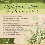 Wild Garden Wedding Invitation additional 2