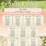 Wild Garden Wedding Seating Plan additional 3