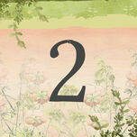 Wild Garden Table Number additional 1