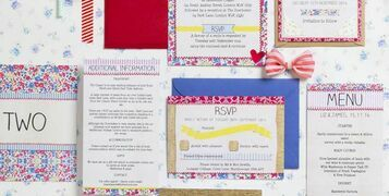 Country Fete Wedding Stationery Collection by Hip Hip Hooray
