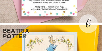 Top 10 Printable Baby Shower Invitation Themes