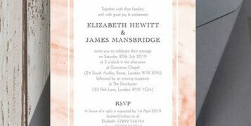 8 Fantastic Modern Wedding Invitations