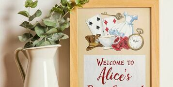 Alice In Wonderland Party Invitations & Inspiration