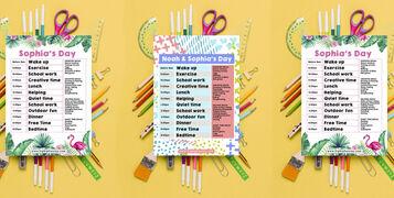 Tropical-flamingo-daily-kids-home-school-ed-education-planner-schedule-isolation-coronavirus-lockdown-activities-b