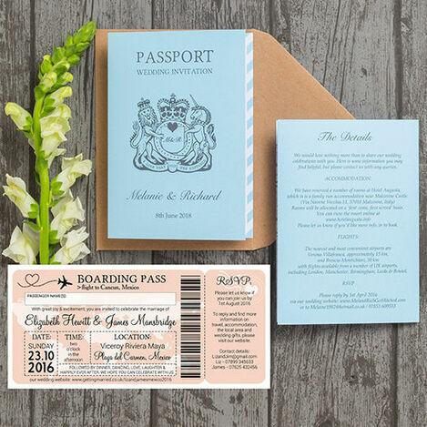Boarding Passes & Passports