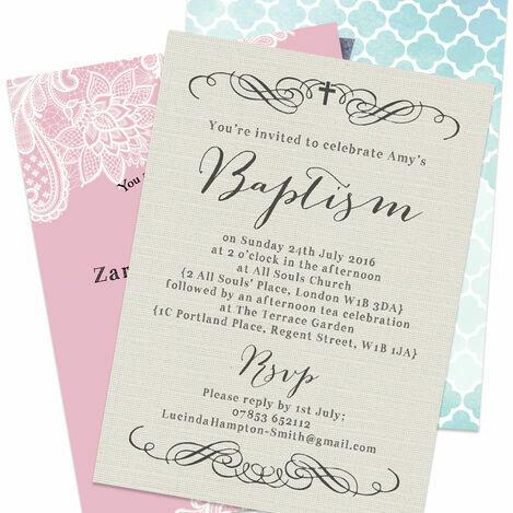 Christening & Baptism Invitations