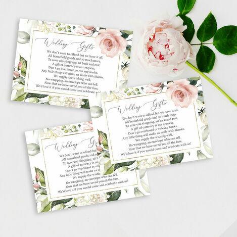 Gift Poem Cards