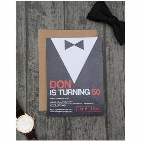 Birthday Invites For Men