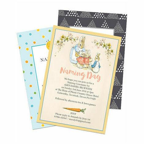 Naming Day Invitations