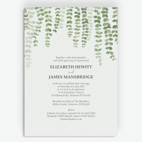 Eucalyptus Wedding Stationery