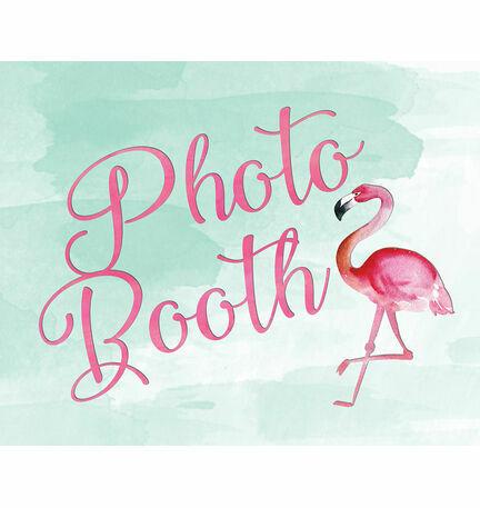 Flamingo Fiesta Wedding Sign - Photo Booth