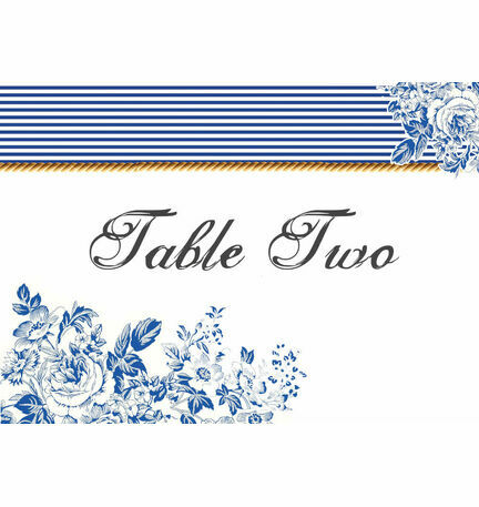 French Toile Table Name