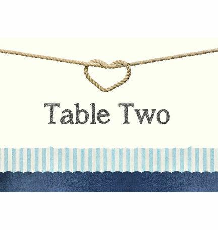 Nautical Knot Table Name