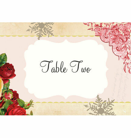 Winter Wonderland Table Name