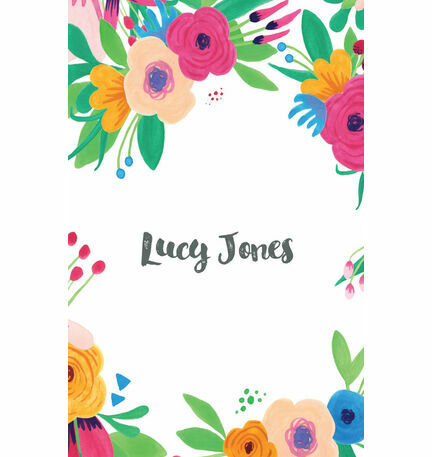 Floral Fiesta Place Card - Sheet of 9