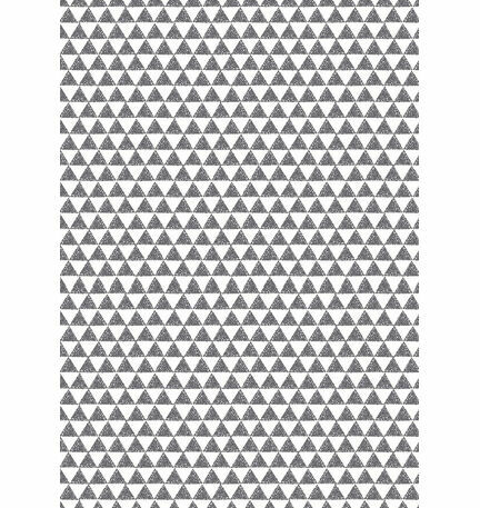 Black and White Triangles Pattern Sheet