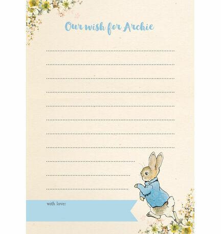 Beatrix Potter Peter Rabbit Birthday Wish Card
