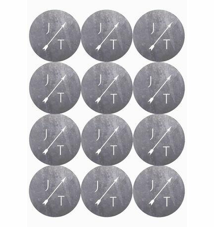 Geometric Stickers - Sheet of 12