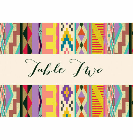 Aztec Ikat Table Name