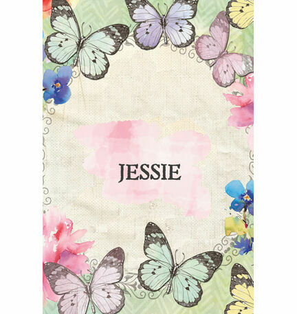 Butterfly Name Cards Sheet - Set of 9