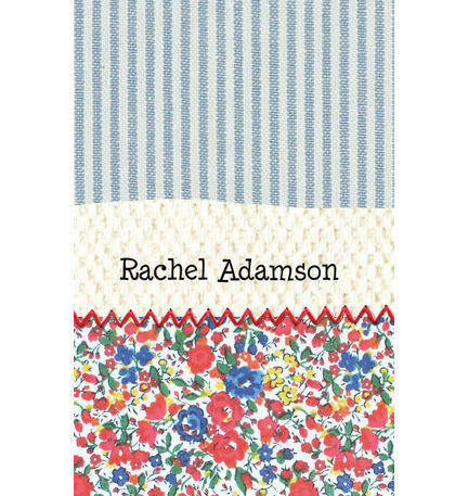 Country Textiles Place Cards - Set of 9