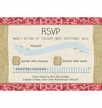 Country Textiles RSVP