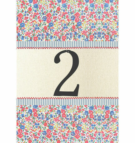 Country Textiles Table Number