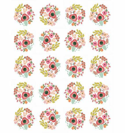 Elegant Floral Pattern Sheet/Envelope Liner