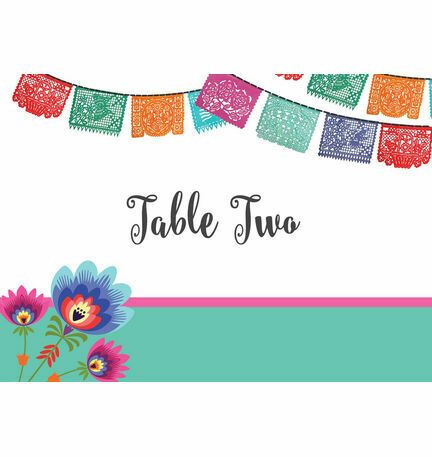 Mexican Fiesta Table Name