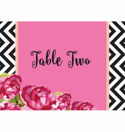 Monochrome Pop Table Name