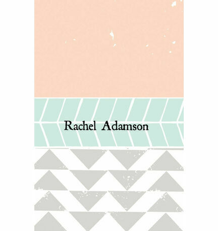 Pastel Bohemian Place Cards - Set of 9