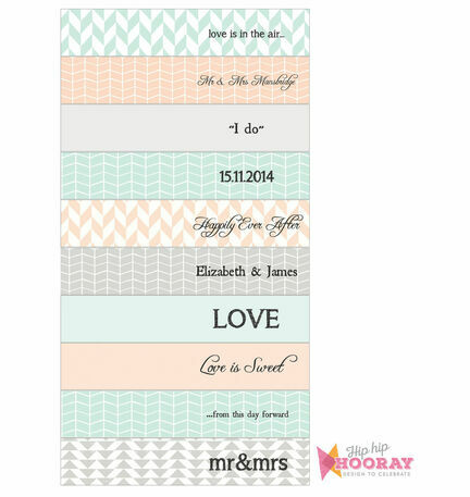 Pastel Bohemian DIY Straw Flags