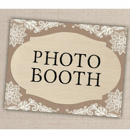 Printable Photo Booth Sign