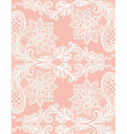 Romantic Lace Pattern Sheet/Envelope Liner