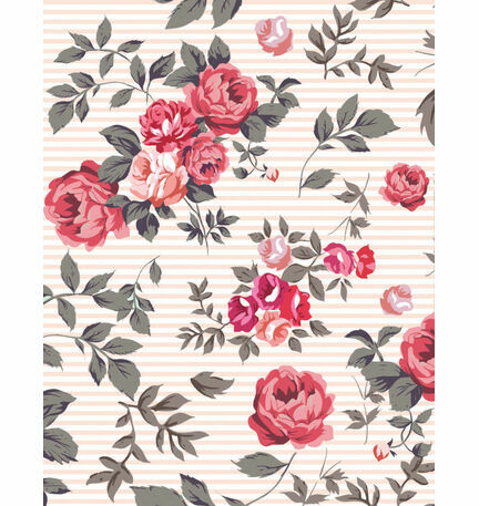 Rustic Floral Pattern Sheet/Envelope Liner